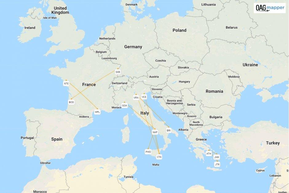 Volotea map