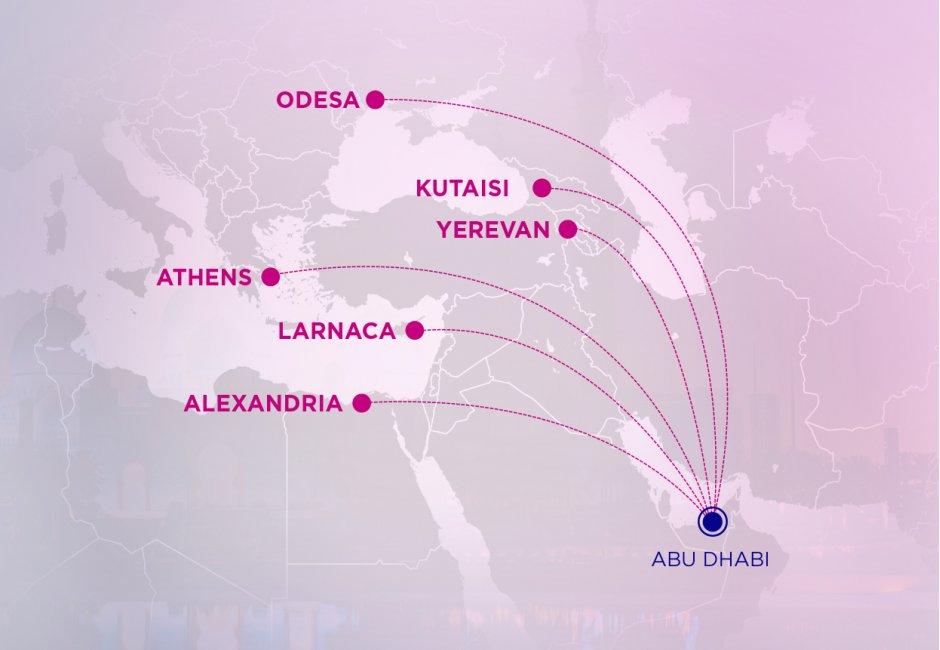 AUH Map