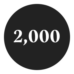 2,000 new routes